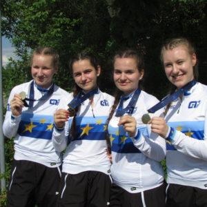 Unsere vier Europameisterinnen 2018