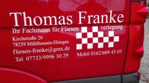 Sponsor Thomas Franke