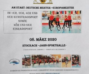 Safe the date – 08.03.20 BaWü der Junioren/Juniorinnen