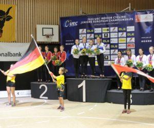Junioren-Europameisterschaft im Hallenradsport am  27./28. August 2021 in Bürglen (Schweiz)